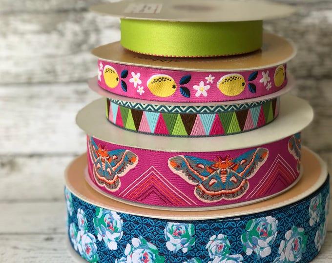 Designer Ribbon Trim Pack - Butterflies