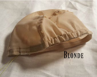 Doll Wig Cap - Blonde