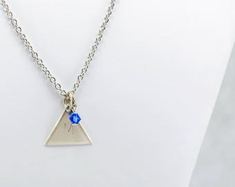 Team Mystic Inspired Pokemon Go Necklace in Silver - Team Mystic Necklace, Team Mystic Jewelry, Pokemon Go Jewelry, Geek or Gamer Necklace