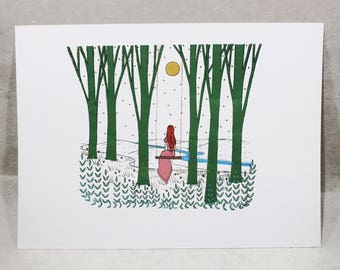 The Swing - Limited Edition Hand-Pulled Screen Print