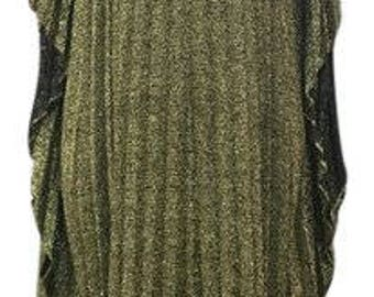 1970's Vintage Disco era Maxi dress