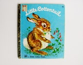 Golden Book Little Cottontail 1974 Edition By Carl Memling Beautiful Colorl Illustrations 24 Pages Childrens Easter Spring