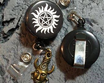 Badge reel - Anti Possession Sigil and Samulet