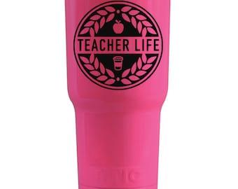 Teacher Life Crest, Teacher Life Decal DIY, Teacher Life Digital Download, Teacher Life SVG