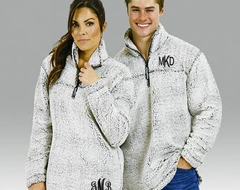Sherpa pullover | Etsy