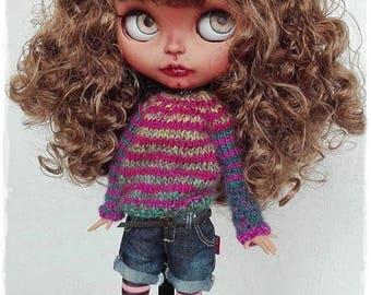 SAHAR Afghan girl Blythe custom doll by Antique Shop Dolls