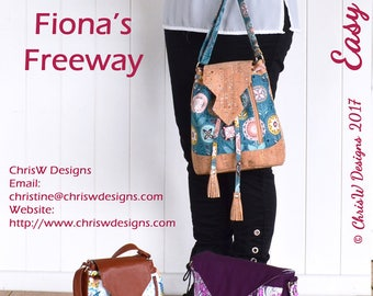 Fiona's Freeway Sew & Sell Easy Street Pattern by ChrisW Designs