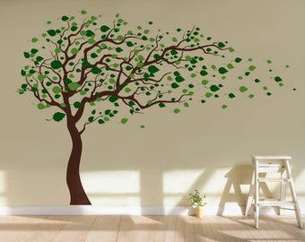 Merveilleux Tree Wall Decals | Etsy