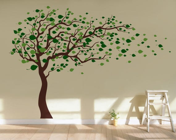 Tree Wall Decals Baby Room Decal Vinyl Wall Decal Wall - Wall decals baby room