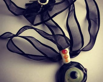 Glass Eyeball Pendant