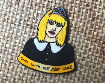 Courtney Love (Hole) pin badge
