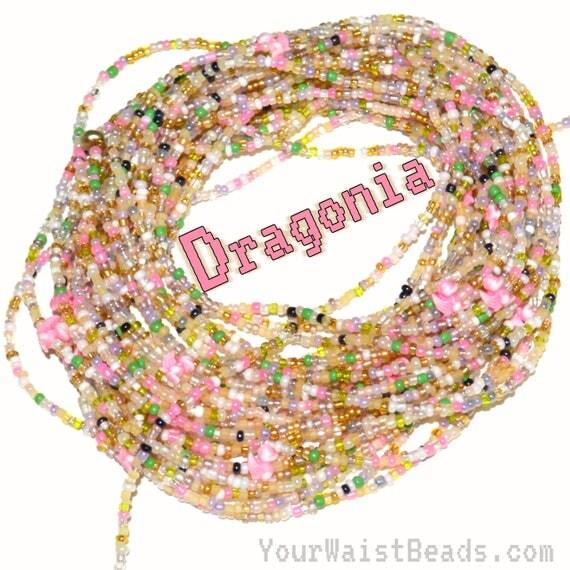 Waist Beads ~ DRAGONIA ~ YourWaistBeads.com