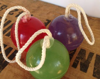 Soap on a Rope - SLS free - Phthalate free - Hang in your shower today - Hang on your shower caddy or hook