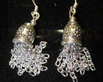 Earrings Jen 7 silver bells
