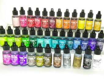 MORE COLORS -Ranger Alcohol Ink- CHOOSE From 37 Assorted Colors