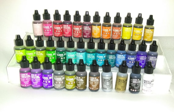More Colors Ranger Alcohol Ink Choose From 37 Assorted
