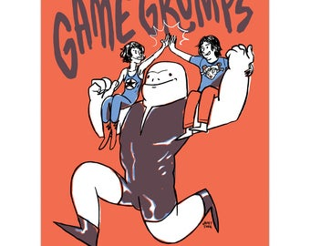 Mycaruba // Game Grumps (Print)
