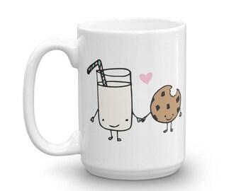 Milk Loves Cookies 15oz. Coffee Mug
