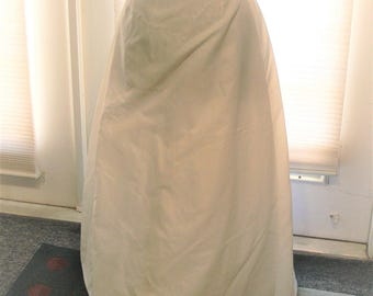 size 8 long petticoat  union label