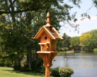 """Sunshine - 20"""" Cedar Birdhouse"""
