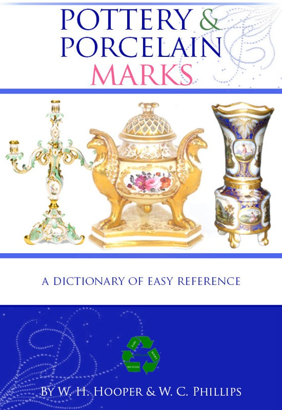 A manual of marks on pottery and porcelain a rare reference a manual of marks on pottery and porcelain a rare reference book for collectors 248 pages printable or read on your tablet instant download sciox Image collections