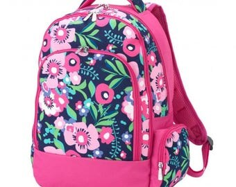 Posie Backpack * Monogrammed FREE * / Large Girls Backpack / Personalized Backpack / Back to School Gear / FREE Personalization