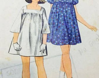 Butterick 4247 Girls Size 10 Dress
