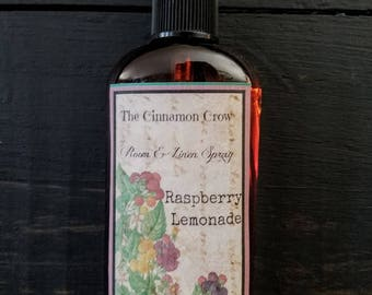 Raspberry Lemonade  room and linen spray ~ Scents of Summer