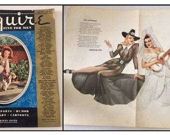 Vargas / Neiman Playboy Pinup Girl Vintage July 1964 Art