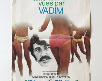 Si Tu Crois, fillette... FRENCH MOVIE POSTER Pretty Maids All In A Row 1971