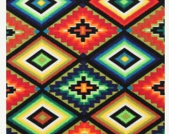 "EOB Clearance, 34"" Fabric, Southwest Fabric, Ojo De Dios by Alexander Henry, Tribal Fabric, Mexican Fabric, 145540"