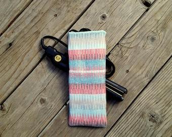Travel Flat Iron Case-Curling Iron Case, Rainbow Polka dots Hot Iron Case