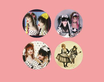 "Strawberry Switchblade 1.5"" pins"