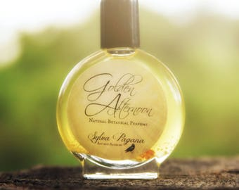 Natural perfume - lavender amber vanilla - organic oil perfume cologne fragrance botanical scent