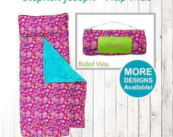 Paisley Nap Mat, Stephen Joseph Nap Mat, Toddler Nap Mat, Preschool Sleeping Mat, No Zip Sleeping Mat, Kids sleeping bag