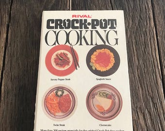 CROCK POT: 450 Easy Crockpot Recipes (crockpot cookbook ... |Vintage Recipe Book Crock Pot