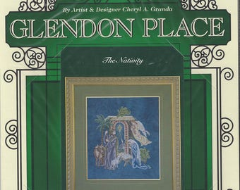 """Clearance- """"The Nativity"""" Counted Cross Stitch by Glendon Place"""
