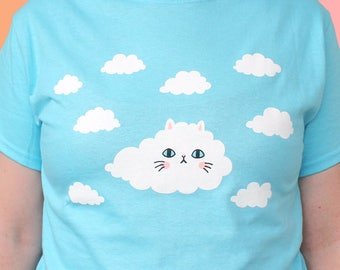 Cloud Kitty T-Shirt - LARGE