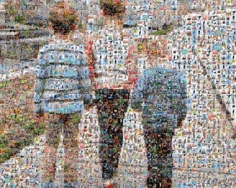 Custom Photo Mosaic- Digital Design
