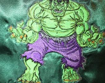 personalized Hulk superhero cape - Custom made for your little Superhero Infant Toddler Teen