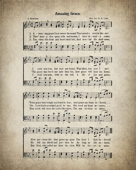 Amazing grace! (how sweet the sound) | Hymnary.org