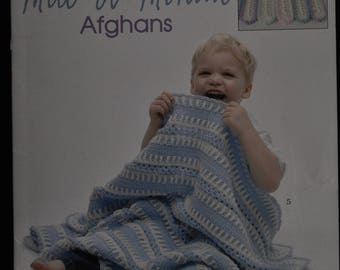 Crochet - Mile-a-Minute Afghan - Toddler Time - 6 Afghan Patterns - Leisure Arts