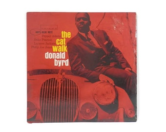 1963 Donald Byrd The Cat Walk Blue Note Label 4075 Jazz Vinyl Records