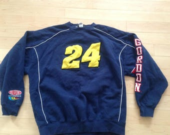Vintage Jeff Gordon NASCAR Racing 90s Sweatshirt