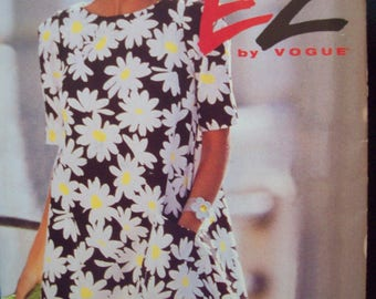 Ultra Easy EZ by Vogue Pattern 8280 A-Line, Tent Dress Uncut Sizes 14-16-18