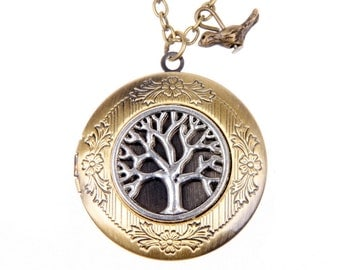Necklace locket tree 2020m
