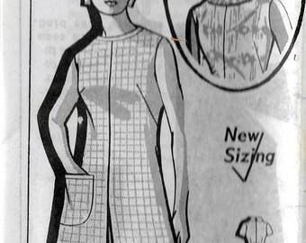 "Vintage 1971 Grit Mail Order 8234 Retro Pantdress Sewing Pattern Size 14 1/2 Bust 37"" UNUSED"