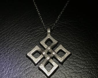 Celtic Knot Necklace, Relic Jewely, Stainless Steel Pendant, Edgy Jewelry, Gift for Teen Daughter, Boutique Style