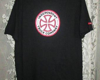 Vintage Independent Truck Company Skateboards T-shirt NHS Original