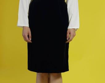 vintage 1980s silk cotton pin tuck blouse | white bib shirt | dirndl | prairie long sleeve top